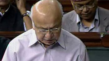 Video : Home Minister in Parliament on Hyderabad blasts