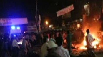 Video : Minutes after the Hyderabad blasts