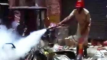 Video : हैदराबाद धमाके में सुराग की तलाश जारी
