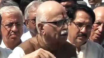 Video : हैदराबाद धमाकों में पाकिस्तान का हाथ : आडवाणी