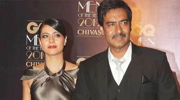 Video : Ajay, Kajol: Keeping the romance alive