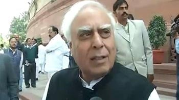 Video : Nobody could have done a better job: Kapil Sibal