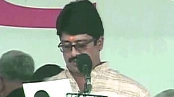 Video : UP minister Raja Bhaiya resigns over policeman's murder