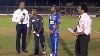 Video : Mumbai opt to bat against Rewa