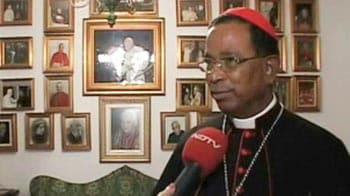 Video : Indian cardinal at Vatican vote for new Pope