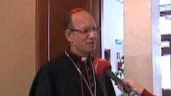 Video : Happy to see Indian flag in the crowd at the Vatican: Archbishop of Mumbai to NDTV