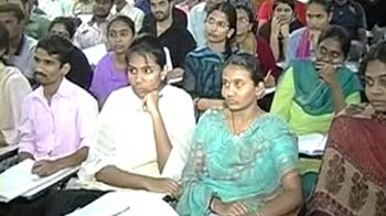 Video : No Telugu in UPSC exam: Andhra students in shock