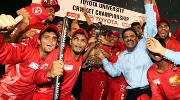 Video : Jain University's 'Marks For Sports' attitude