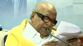 Video : Lanka resolution: Karunanidhi threatens again, says support to UPA doubtful