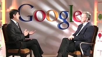 Video : Google's Eric Schmidt on driverless cars, internet censorship