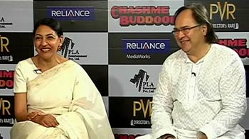 Video : Farooque Sheikh, Deepti Naval recall Chashme Baddoor days