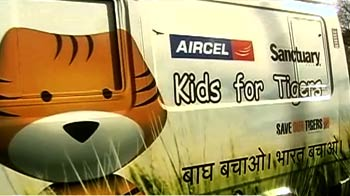 Video : Kids for tiger express van launched in Jaipur