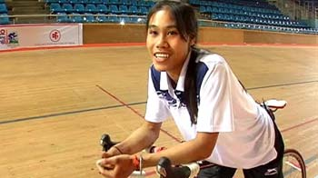 Video : From tsunami survivor to Asian Cycling medallist