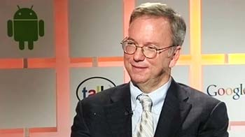 Video : An interview with Eric Schmidt