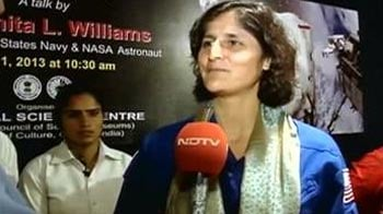 Video : Space feels like home to me: Sunita Williams to NDTV