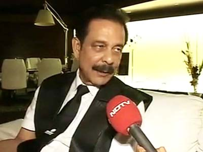 Video : Can't refund investors a second time:  Sahara chief to NDTV