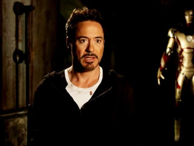 How Robert Downey Jr relates to Iron Man