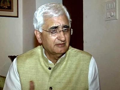 Video : We need to be sensitive to people's anger: Salman Khurshid to NDTV
