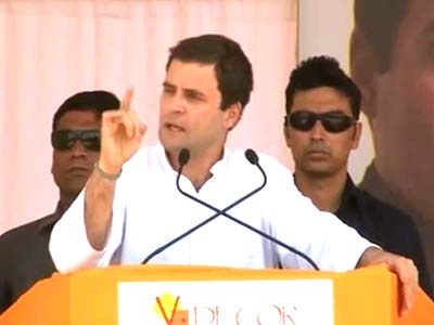 Video : Rahul Gandhi launches Congress' bid to win back Karnataka