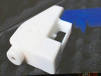 Video : World's first 3D-printed gun fires real bullets
