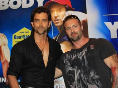 Video : Heavyweight Hrithik's lighter side