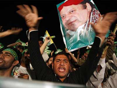 Video : Nawaz Sharif set to win historic Pakistan election