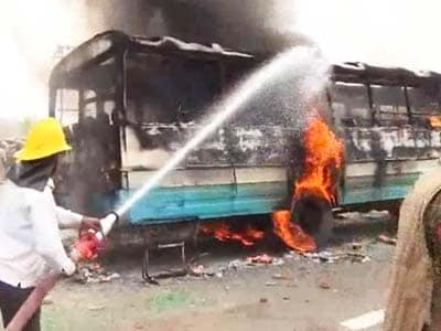 Video : Rohtak: Clashes over controversial godman's ashram; 3 killed, over 100 injured
