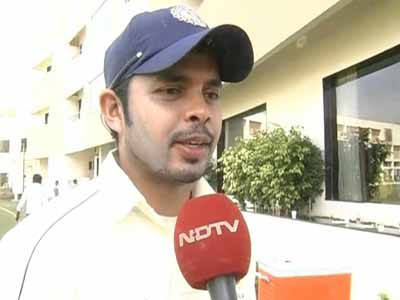 Video : Flashback: When Sreesanth condemned spot-fixing