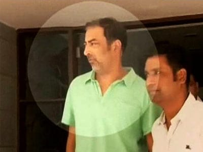 Video : Spot-fixing: Vindu's custody extended, wife says he is being victimised