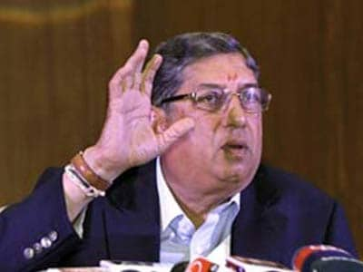 Video : My decision to step aside extremely fair, N Srinivasan tells NDTV
