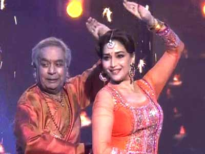 Video : Madhuri's jugalbandi with Birju Maharaj