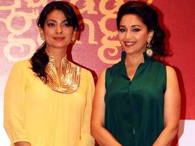 Madhuri, Juhi: Not arch-rivals anymore?