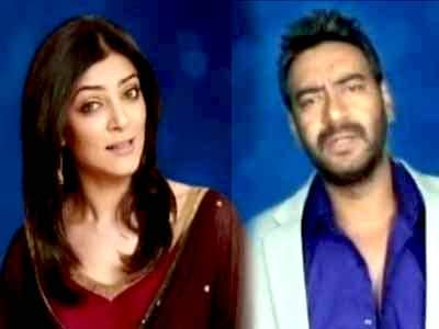 Ajay Devgn, Sushmita join hands to save the girl child