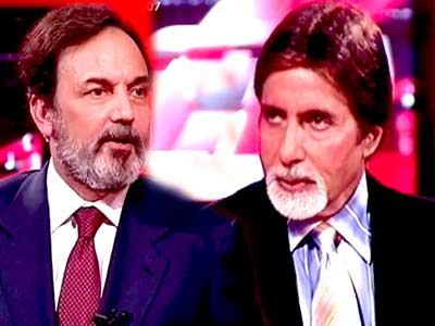 Video : India Questions Amitabh Bachchan (Aired: February 2007)