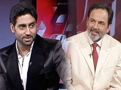 Video : India Questions Abhishek Bachchan (Aired September 2008)