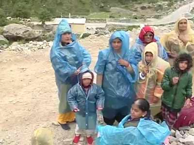 Video : NDTV at Badrinath: Thousands stranded, no damage to temple