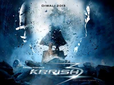 Video : Hrithik unveils first look of Krrish 3