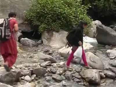 Video : A trek down the treacherous terrain of Badrinath