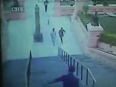 Video : Bodh Gaya blasts: Cops release CCTV footage