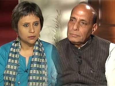 Video : I don't think Ishrat Jahan's was a fake encounter: Rajnath