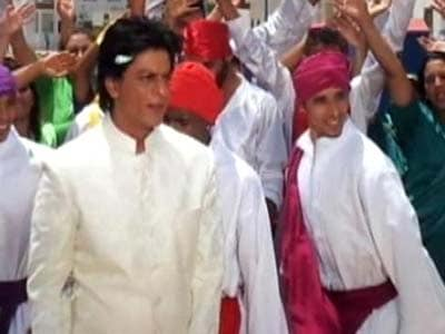 Shah Rukh Khan shoots in Morocco