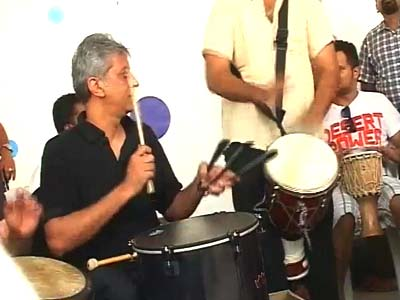 Video : Bangalore joins the global Drumjam circle