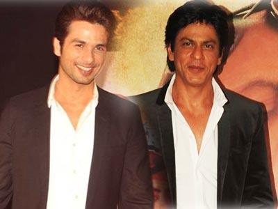Video : SRK, Shahid's budding friendship