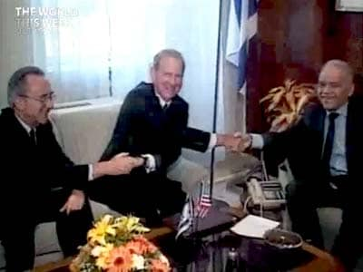 Video : The World This Week: Arab-Israeli peace talks begin (Aired: October 1991)