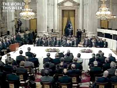 Video : The World This Week: Landmark Arab-Israeli peace conference begins in Madrid (Aired: November 1991)