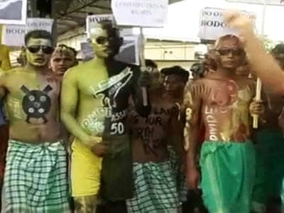 Video : Assam: Protests over Bodoland intensify, Congress MP's house set ablaze