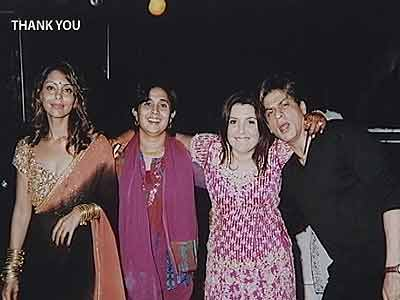 Video : With a little help from my friends: Farah Khan (Aired: 2005)