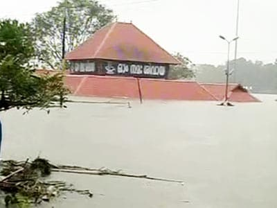 Video : Kochi airport closed for second day, devotees throng nearly submerged temple