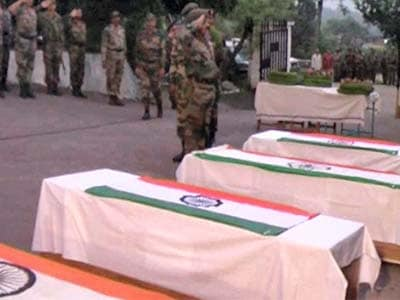Video : 5 jawans killed in Poonch: final salute to our brave soldiers