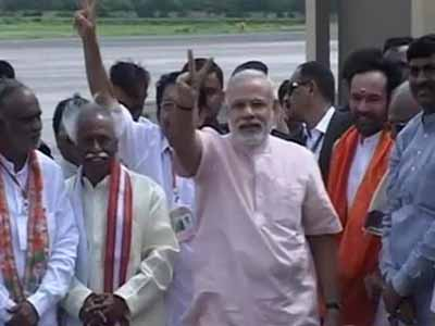 Video : Narendra Modi to kick off BJP's poll campaign in Hyderabad today